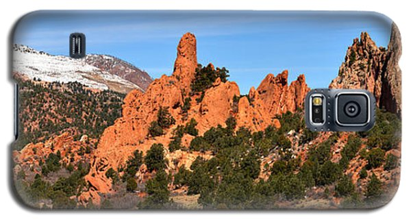 Galaxy S5 Case featuring the photograph High Point View by Adam Jewell