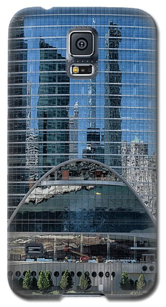 High Rise Reflections Galaxy S5 Case by Alan Toepfer