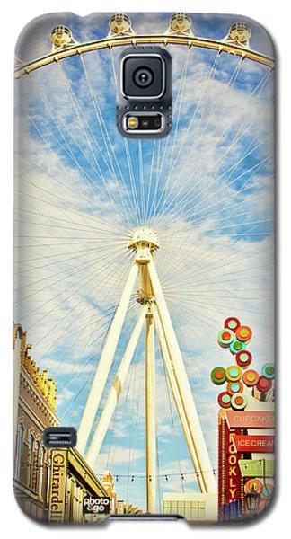 High Roller Wheel, Las Vegas Galaxy S5 Case