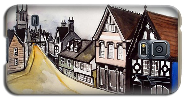 High Street Of Stamford In England Galaxy S5 Case by Dora Hathazi Mendes