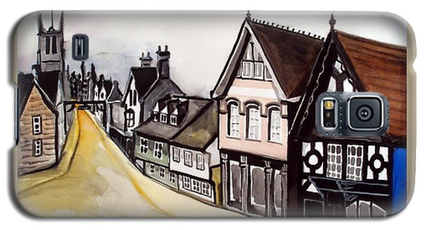 High Street Of Stamford In England Galaxy S5 Case