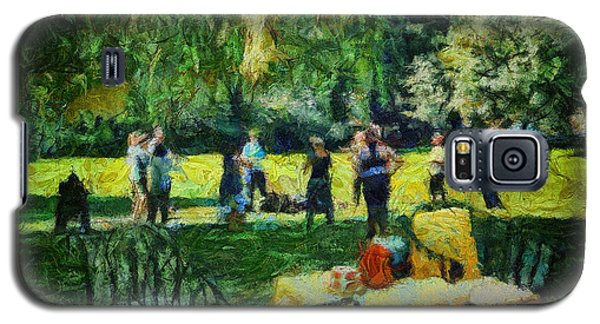 High Tea Tai Chi Galaxy S5 Case