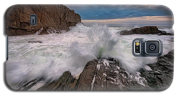 High Tide At Bald Head Cliff Galaxy S5 Case by Rick Berk