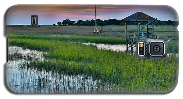 High Tide On The Creek - Mt. Pleasant Sc Galaxy S5 Case