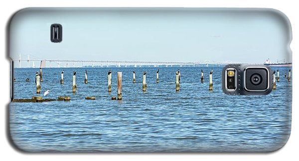 Galaxy S5 Case featuring the photograph Highland Beach On The Chesapeake by Charles Kraus