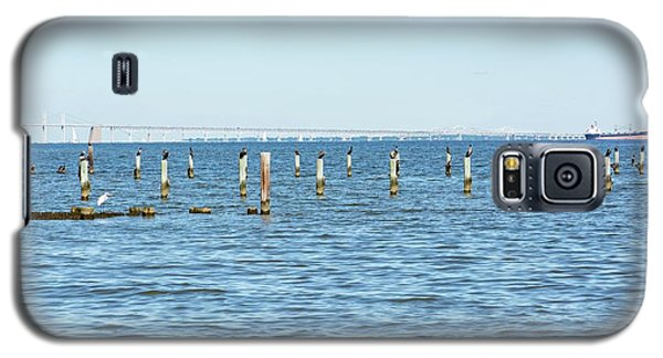 Highland Beach On The Chesapeake Galaxy S5 Case by Charles Kraus