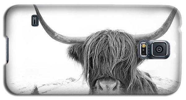 Highland Cow Mono Galaxy S5 Case