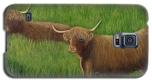 Highland Cows Galaxy S5 Case