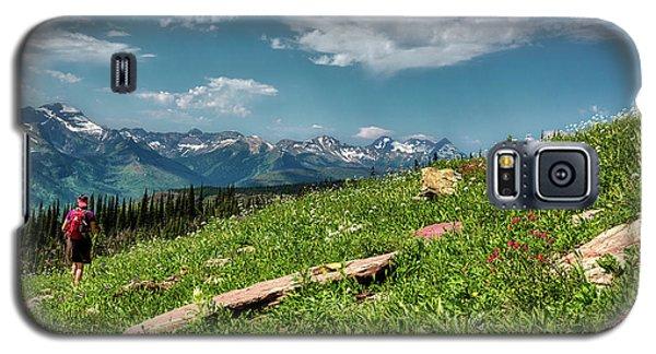 Highline Trail Adventure Galaxy S5 Case