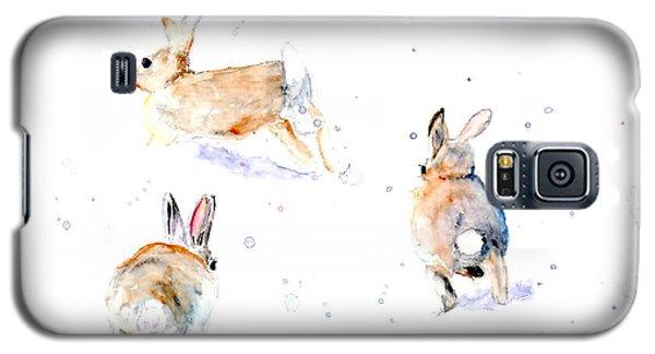 Hightailing Bunnies Galaxy S5 Case