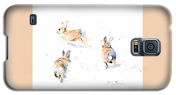 Hightailing Bunnies Galaxy S5 Case