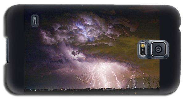 Highway 52 Storm Cell - Two And Half Minutes Lightning Strikes Galaxy S5 Case