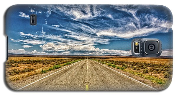Sangre De Cristo Galaxy S5 Case - Highway 64 To Taos by Gestalt Imagery