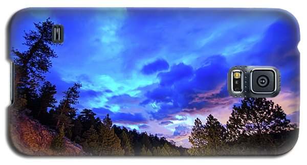 Galaxy S5 Case featuring the photograph Highway 7 To Heaven by James BO Insogna