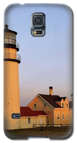 Galaxy S5 Case featuring the photograph Higland Lighthouse Cape Cod by Roupen  Baker