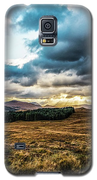 Galaxy S5 Case featuring the photograph Higlands Wonders by Anthony Baatz