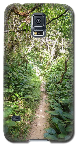 Hiking Path In The Atlantic Forest Galaxy S5 Case
