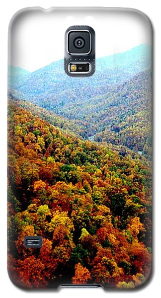 Galaxy S5 Case featuring the photograph Hiking Through The Mountains by Skyler Tipton