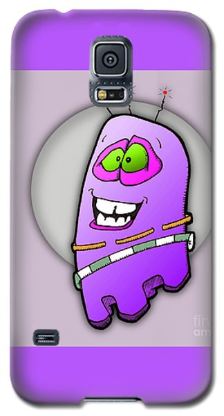 Galaxy S5 Case featuring the drawing Hilaria by Uncle J's Monsters