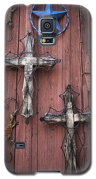Hill Country Crosses Galaxy S5 Case