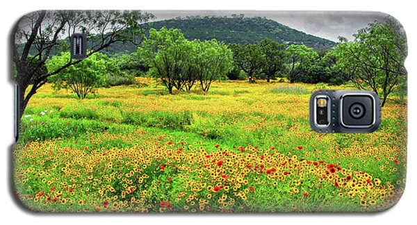 Hill Country Wildflowers Galaxy S5 Case