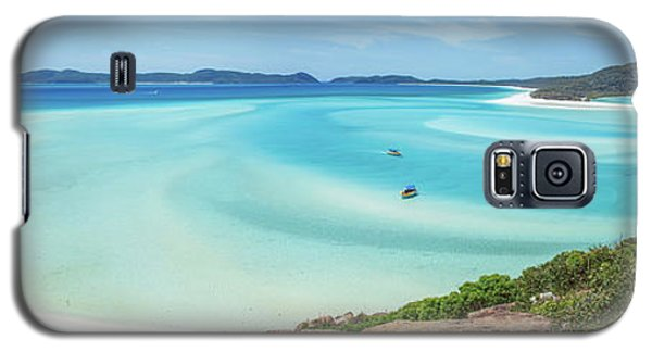 Galaxy S5 Case featuring the photograph Hill Inlet Lookout by Az Jackson