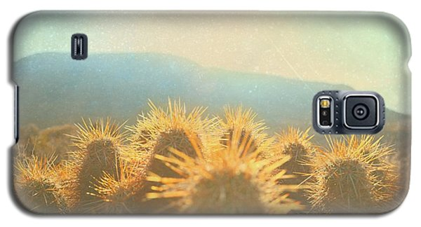 Galaxy S5 Case featuring the photograph Hill Top Sunset  by Mark Ross
