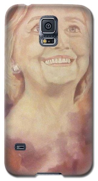 Hillary Clinton Galaxy S5 Case by Raymond Doward
