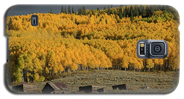 Galaxy S5 Case featuring the photograph Hills Afire by Dana Sohr