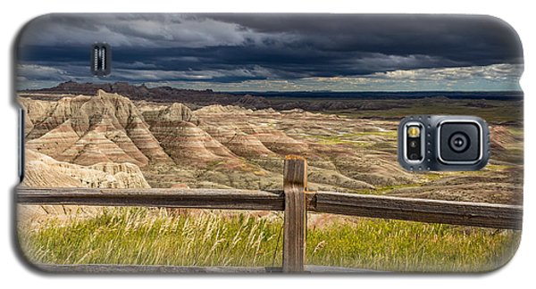 Hills Behind The Fence Galaxy S5 Case