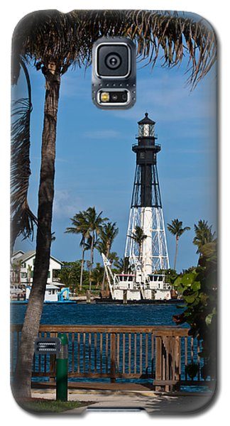 Hillsboro Inlet Lighthouse And Park Galaxy S5 Case by Ed Gleichman