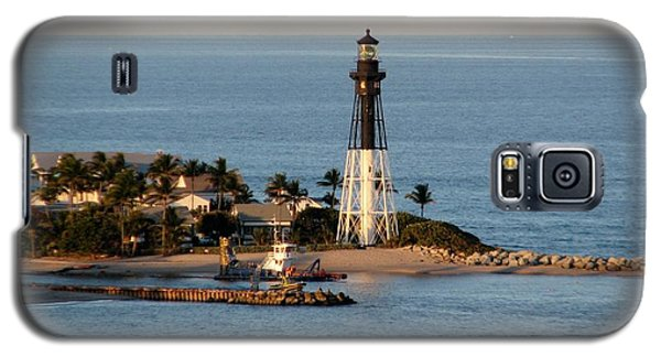 Hillsboro Lighthouse In Florida Galaxy S5 Case