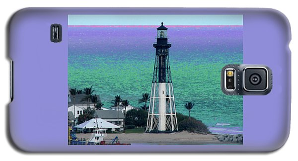 Hillsboro Lighthouse Purple Horizon Galaxy S5 Case