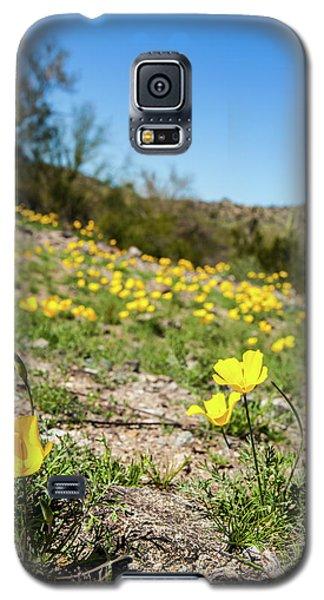 Hillside Flowers Galaxy S5 Case by Ed Cilley