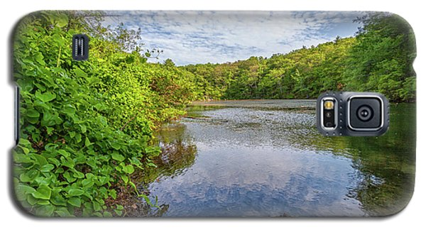 Hillside Pond Milton Massachusetts Galaxy S5 Case