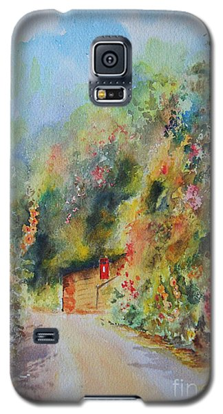 Galaxy S5 Case featuring the painting Hillside Street Hythe Kent by Beatrice Cloake