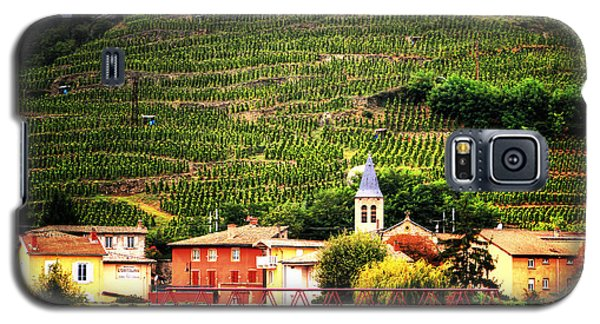 Galaxy S5 Case featuring the photograph Hillside Vineyard France by Tom Prendergast
