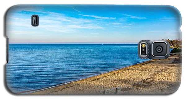 Hillsmere Beach On The Chesapeake Galaxy S5 Case by Charles Kraus