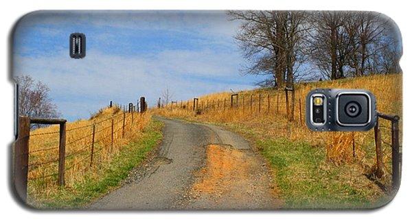 Hilltop Driveway Galaxy S5 Case by Kathryn Meyer