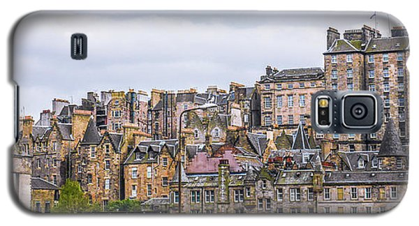 Hilly Skyline Of Edinburgh Galaxy S5 Case
