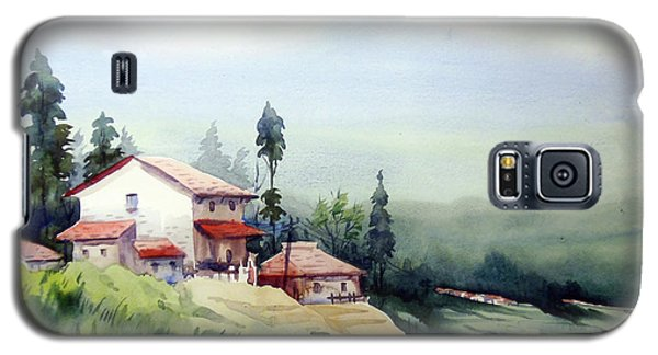 Himalaya Village Galaxy S5 Case by Samiran Sarkar