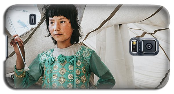 Himalayan Girl Galaxy S5 Case