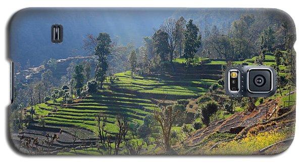 Himalayan Stepped Fields - Nepal Galaxy S5 Case