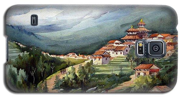 Himalayan Village  Galaxy S5 Case