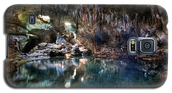 Galaxy S5 Case featuring the photograph Hinagdanan Cave by Yhun Suarez