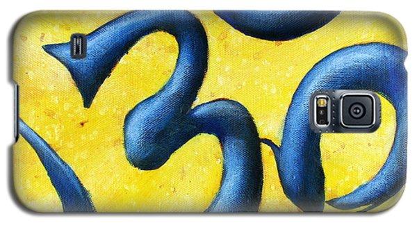 Hindu Om Symbol Art Galaxy S5 Case