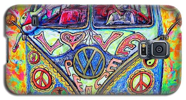 Hippie Galaxy S5 Case by Viktor Lazarev