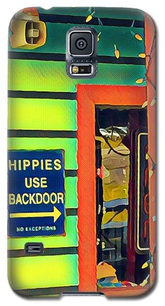 Hippies Use Backdoor Galaxy S5 Case