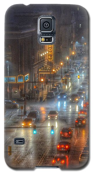 Galaxy S5 Case featuring the photograph Hippodrome Theatre - Baltimore by Marianna Mills