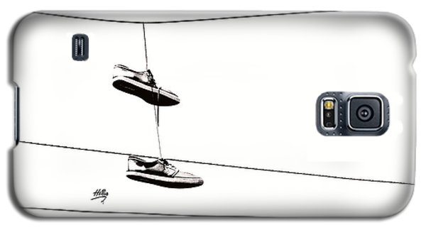 His Galaxy S5 Case by Linda Hollis